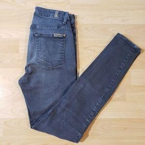 7 FAM high waist ankle skinny jeans